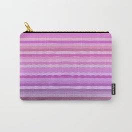 Pink Striped Idea Carry-All Pouch