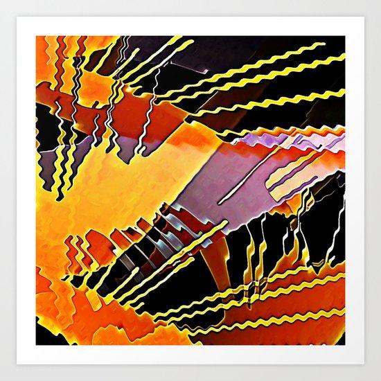 My Fission Electric Art Print