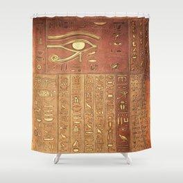 Ancient Script Shower Curtain