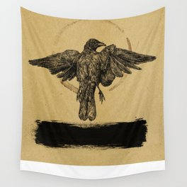 Quiet Bird Wall Tapestry