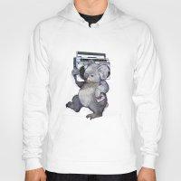 koala Hoodies featuring koala  by Laura Graves