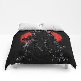 Hail Zilla Comforters