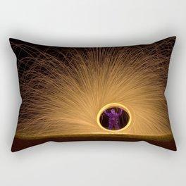 Light Man Rectangular Pillow
