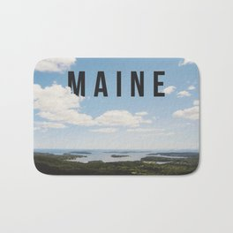 Maine. Bath Mat