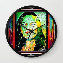 Rainbow Candy 01 Wall Clock