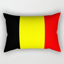Drapeau Belgique Rectangular Pillow