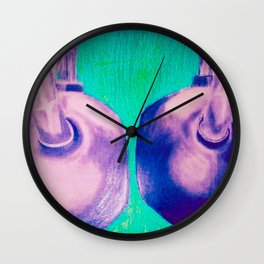KETTLEBELLS with COLOR Wall Clock