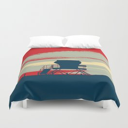 Tower Graphic Duvet Cover