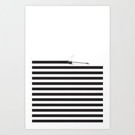 Distracted Art Print