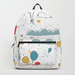 Balloons in Sky Backpack