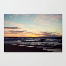 Lake Erie Sunset II Canvas Print