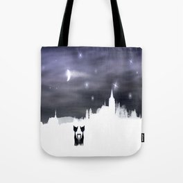 Cats on tour 2 Tote Bag