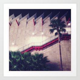 Los Angeles County Museum of Art Art Print