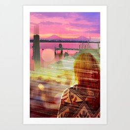 The Harbor Art Print