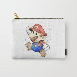 Mario Watercolor Carry-All Pouch