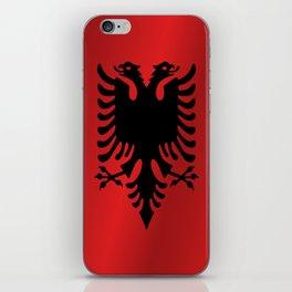 Flag of Albania iPhone Skin