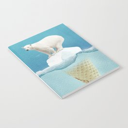 Polar ice cream cap Notebook