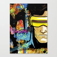 cyclops Canvas Prints featuring Cyclops by Zoé Rikardo
