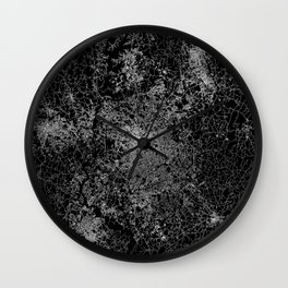 Charlotte map Wall Clock