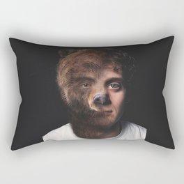 Animorph-Bear Rectangular Pillow