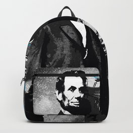 ABRAHAM LINCOLN MORE MUSIC LESS WAR Backpack