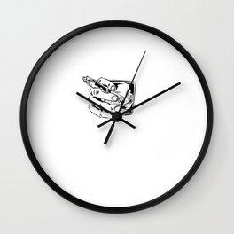 Whiskey Gentleman Bourbon Single Malt Wall Clock