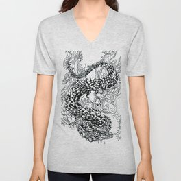 A Dragon from your Subconscious Mind Unisex V-Neck