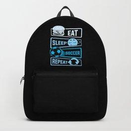 Eat Sleep Soccer Repeat Backpack