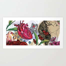 Hedonistic Approaches to Healthy Living Art Print