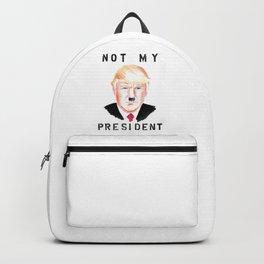 Not My President Backpack