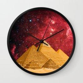 The Great Pyramids Wall Clock