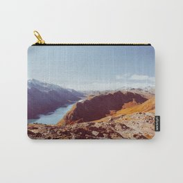 Norwegian National Park Landscape Shot on Film Carry-All Pouch