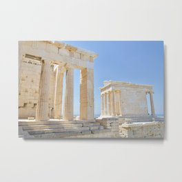 Acropolis, Greece Metal Print