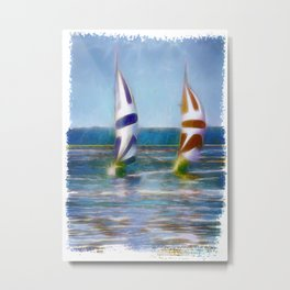 The Wind In Your Sails Metal Print