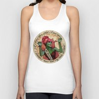 argentina Tank Tops featuring Miss Argentina by Brittany W-Smith