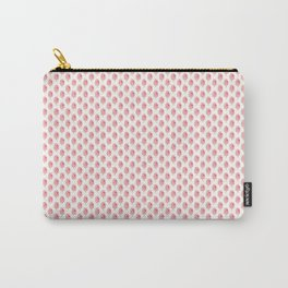 Strawberries N Cream Popsicle Pattern Carry-All Pouch