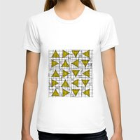 yellow pattern T-shirts featuring Yellow by Ivano Nazeri