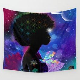Cosmic Goddess Heart Chakra Wall Tapestry