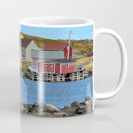 village on Fogo Island,NL Coffee Mug