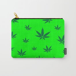 Cannabis Leaves Background Carry-All Pouch