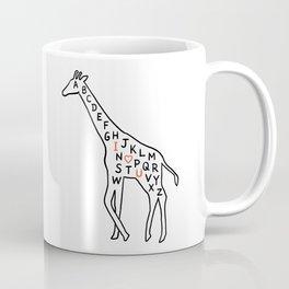 I love you as high as I can reach Coffee Mug