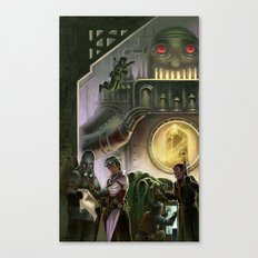 Steam Dungeons and Electric Treasure Canvas Print