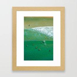 Surfing Day VI Framed Art Print