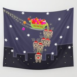 Sleigh Ride Wall Tapestry