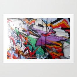Grafitti Art Print