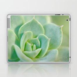 Sempervivum close-up shot Laptop & iPad Skin