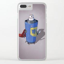 Super WD-40 Clear iPhone Case