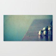 white balls II Canvas Print