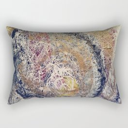 Spiral Galactic Myst Rectangular Pillow