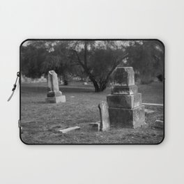 Headstones In City Cemetery Laptop Sleeve